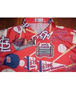 St. Louis Cardinals 11 Time World Champions Busch MLB NL Adult Red Camp ... - $34.64