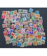 106 Worldwide Stamps, used, in various denomina... - $7.50