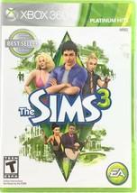 Neu Ovp The Sims 3 (Microsoft Xbox 360, 2010) Platinum Hits Ungeöffnet Y-Fold - $27.65