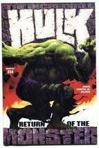 Incredible Hulk #34 2002 Marvel comic book NM- - $18.92