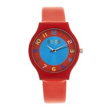 Crayo Jubilee Strap Watch - Red - £84.03 GBP
