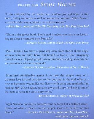 Sight Hound : Pam Houston - New Hardcover 1st Edition: Irish Wolfhound  @ZB