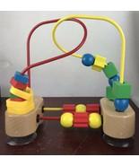 Melissa & Doug First Bead Maze (Developmental Toys, Wooden Educational Toy) - $14.03