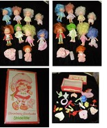 Strawberry Shortcake Doll & Accessories Lot Vintage 1980s - $50.00
