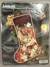 Janlynn Christmas Cats Stocking Counted Cross Stitch Kit 125-239 Black Aida - $68.31