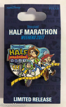 runDisney 2017 Disneyland Half Marathon Pixar Buzz Woody Jessie Pin - $15.00