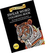 Swear Word Coloring Book: The Jungle Adult Coloring Book featured with S... - $10.50