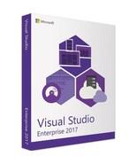 Microsoft Visual Studio Enterprise 2017   Genuine License - $74.99