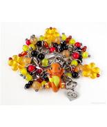 Charmander Figurine Bracelet, Pokemon Jewelry, Handmade Gifts, Gamer Girl - $51.00