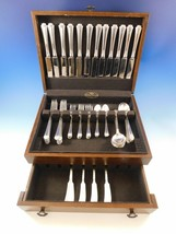 Georgian Colonial Wallace Sterling Silver Flatware Set 12 Service 72 Pc ... - $4,995.00