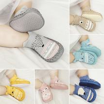 Cute Cartoon Newborn Baby Girls Boys Anti-Slip Socks Slipper Shoes Boots - $6.00