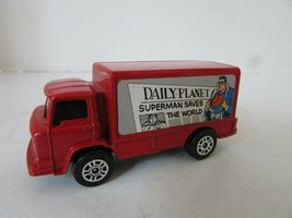 DIECAST CAR CORGI JUNIORS LEYLAND TERRIER SUPERMAN DAILY PLANET GR. BRIT... - $11.71