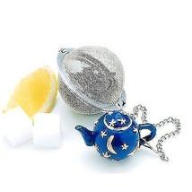 NorproTea Infuser Stainless Steel Mesh Ball Teapot weight Moon &Stars