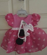 Minnie Mouse Costume Bodysuit for Baby 6-9 Months ~Pink - $24.95