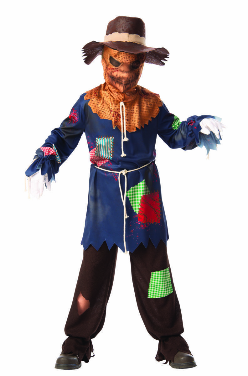Rubies Sinister Scarecrow Scary Evil Spooky Childrens Halloween Costume 700894