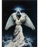Illuminate My Path by  Edward Clay Wright - Black Angel - African Americ... - $210.36