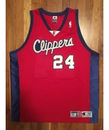 Authentic Champion Los Angeles Clippers Andre Miller Away Road Red Jerse... - $309.99