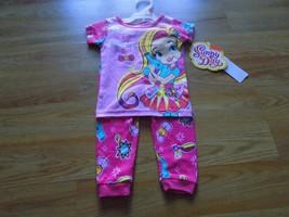 Size 2T Nickelodeon Sunny Day Pink Pajamas Set Shirt Top Pants Think Dre... - $12.00