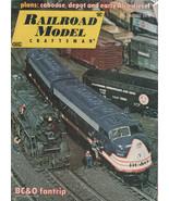 Railroad Model Craftsman Magazine August 1975 BC&O Fantrip - $2.50