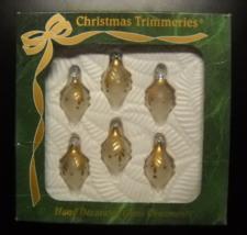 Bradford Christmas Ornament Christmas Trimmeries Mexico Glass Boxed Set ... - $14.99