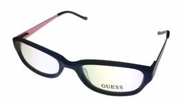 Guess Womens Ophthalmic Eyeglass Rectangle Black Plastic 9075 - $35.99