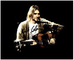 Primary image for KURT COBAIN  Authentic Original 8x10 SIGNED AUTOGRAPHED PHOTO w/ COA