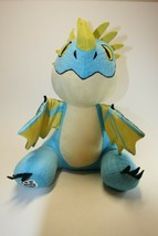 Dreamworks Dragons Build A Bear BAB 2015 Stormfly Blue & Yellow Dragon - $16.82