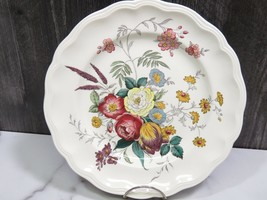"Spode Gainsborough Floral Dinner Plate 10.75"" New Mark - $19.80"
