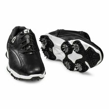 NEW! FootJoy [9.5] Medium Men SuperLites Golf Shoes 58014-Black - $118.68