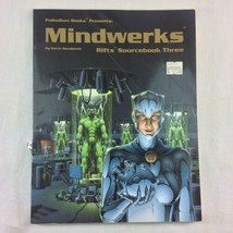 Palladium RPG RIFTS Mindwerks Sourcebook Three 1994 1st Printing Siembie... - $12.86