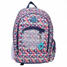 "NEW Double Dutch Club 18"" Kaleidoscope Backpack w/ Padded Straps & Laptop Pocket"