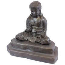 EMSCO Meditating Buddha Statue – Natural Bronze Appearance – Resin – 24 ... - €80,97 EUR