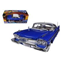 1958 Plymouth Fury Blue Custom 1/18 Diecast Car Model by Motormax 79011MJBL - $51.45