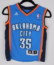 Adidas basketball jersey youth kids Oklahoma City Thunder Kevin Durant 3... - $14.88