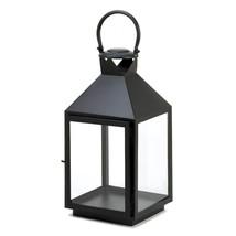 Large Classic Black Candle Lantern - $32.99