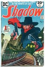 The Shadow #1 1973- DC Comics- Pulp Hero Kaluta VG - $18.62