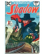 The Shadow #1 1973- DC Comics- Pulp Hero Kaluta VG - $18.62
