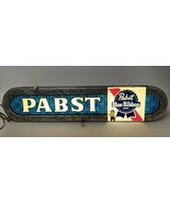 "Vintage PABST BLUE RIBBON BEER 37"" Lighted Advertising Bar Sign PBR Man ... - $445.49"