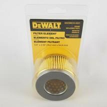 "Dewalt DXCM019-0221 Genuine Air Filter Element 3"" x 2.16 x 1.5"" New - $13.10"