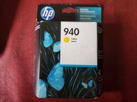 HP 940 yellow ink cartridge HP Officejet Pro 8000 8500 8500A Best By 02/2019 - $23.09