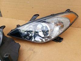 07-08 Toyota Solara OEM Halogen Headlight Lamp Matching Set Pair L&R - POLISHED image 5