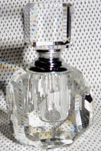 Oleg Cassini Signed Fine Crystal Perfume Bottle 122460 Venezia Casa Cassini - $27.99
