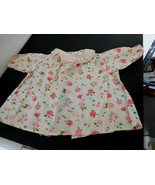 Vintage Georgene Dress for Large Size Raggedy Ann Roses & Mums - $32.99