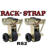 Rack Strap 2 Pack, RS2, 1-7/8 Inch OD Round Pipe Steel Mounting Frame - $95.99