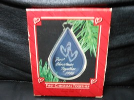 "Hallmark Keepsake ""First Christmas Together"" 1986 Acrylic Ornament NEW - $4.65"