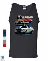 Ford Mustang 1969 Shelby GT350 GT500 Tank Top American Muscle Car Sleeve... - $10.64+
