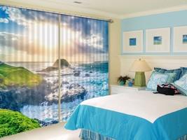 3D Sun Black Clouds 22 Blockout Photo Curtain Print Curtains Drapes US Lemon - $177.64+