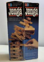 Vtg New Original Jenga Wood Block Stacking Game 4793 Complete 1986 - £14.31 GBP