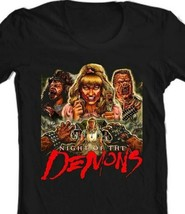 Night of the Demons T Shirt retro vintage 80s horror movie graphic tee shirt image 2