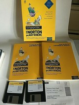 Symantec the Norton PC Anywhere 1995 Version 2.0 for Windows 95 and 3.1 ... - $39.35